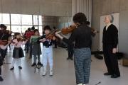 青山クラス コンサートに向けた合奏レッスン
